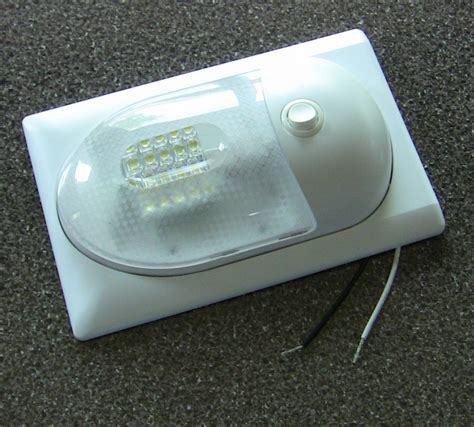 Rv Light Fixtures Replacing Rv Light Fixture For Incandescent With Led Light Fixture