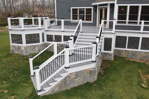 top deck composite decks and railings best in backyards