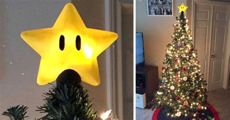 super mario star tree topper shut up and take my yen
