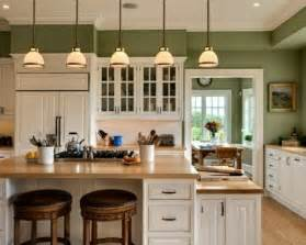 kitchen wall green color