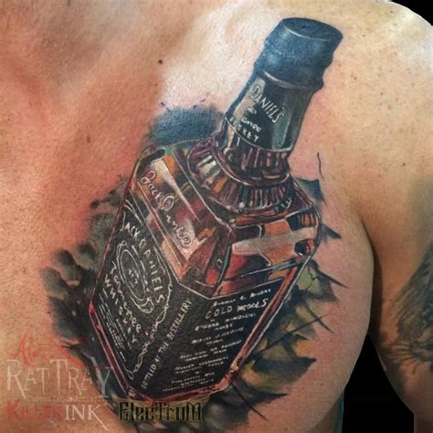 jack daniels tattoo designs 8 tattoos on leg