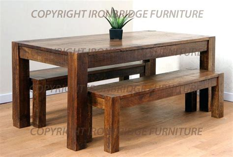 large kitchen tables with benches rustic kitchen tables amusing black wood dining table and