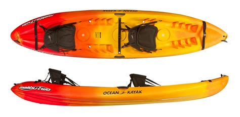 ocean kayak comfort plus seat ocean kayak malibu 2 tandem sit on top kayaks