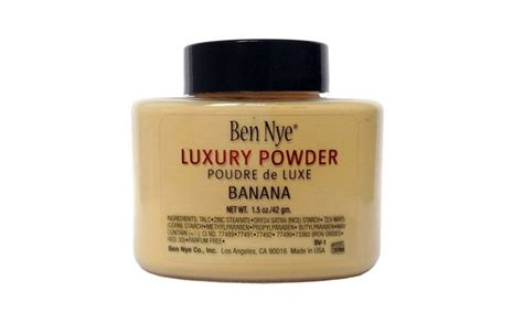 Ben Nye Banana Luxury Powder 1 5oz ben nye luxury banana powder 1 5oz groupon