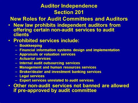 accounting auditing and corporate governance impact of