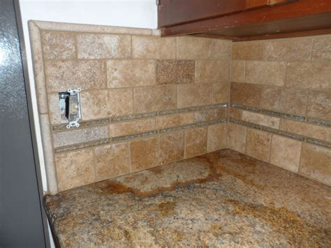 stone tile backsplash inertiahome com