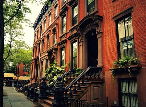 buy house brooklyn cobble hill brownstones on a cloudy day brooklyn ny through the lens new york city