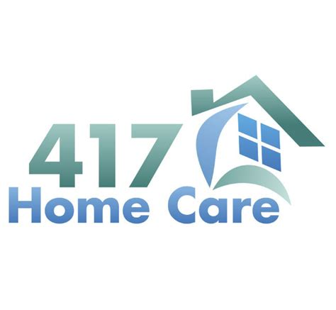 417 home care logo design marketing