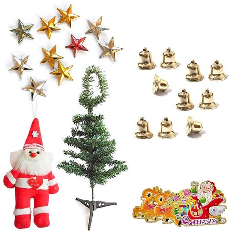 buy send christmas tree santa claus bells n stars gift 108