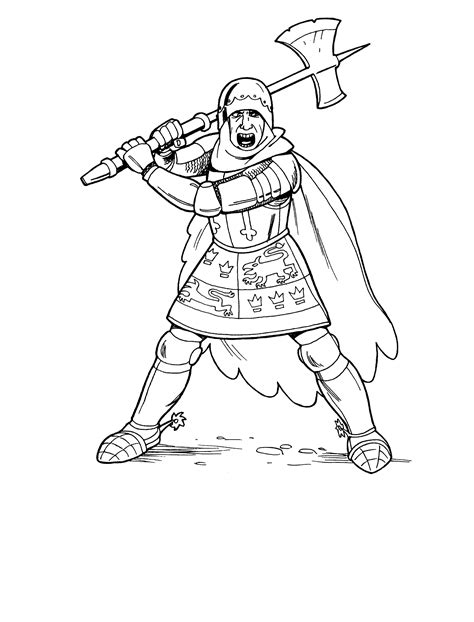 printable images of knights free knight coloring page coloring home