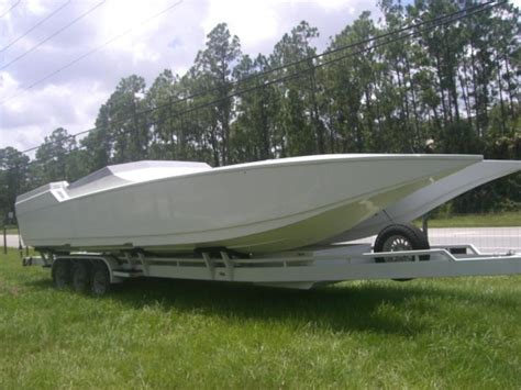 boat hull for sale florida 1998 express catamaran powerboat for sale in florida