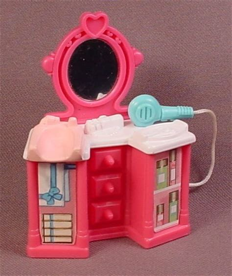 Fisher Price Vanity Table fisher price sweet streets 2002 pink vanity table with attached dryer mirror 74922