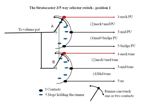 strat 5 way switch wiring diagram get free image about