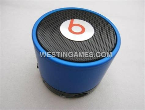 Mini Speaker Bluetooth Beats s10 beats by dr dre mini bluetooth speaker beatbox blue