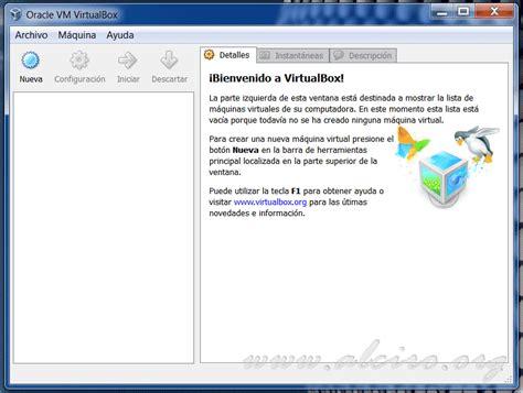 imagenes de virtualbox instalar linux en virtualbox instalar linux en una