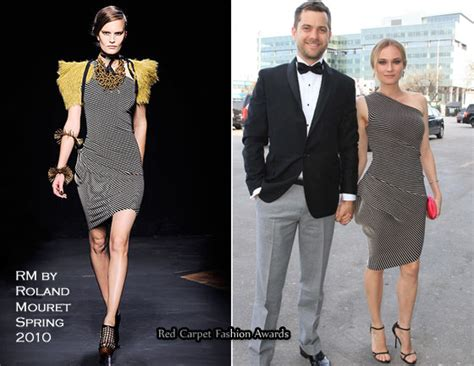 Who Wore Rm By Roland Mouret Better Trudie Styler Or Jemima Khan by Quot The Genie Awards Quot Diane Kruger In Rm By Roland Mouret