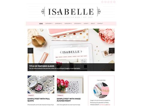 cute themes for wordpress free download 18 cute feminine wordpress themes for women in 2018