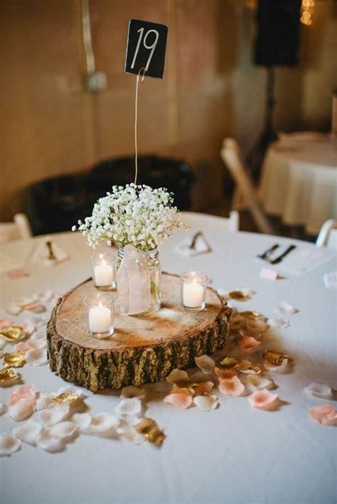 round table decorations rustic wedding round table decorations www imgkid com