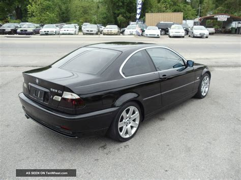 2002 Bmw 325ci by 2002 Bmw 325ci 5 Speed Manual Black 2 Door Coupe