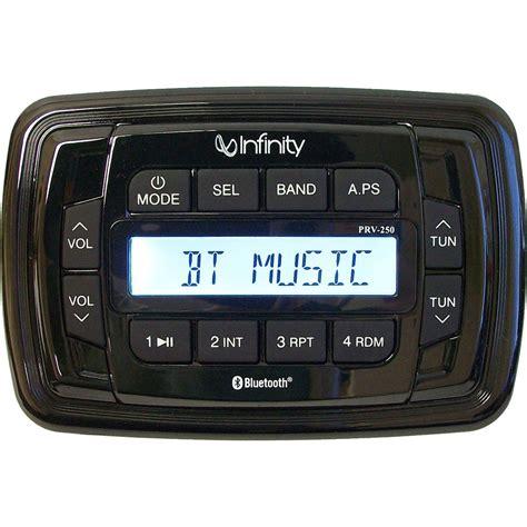 register for bt infinity infinity infinity prv250 am fm bt stereo receiver 11 45143