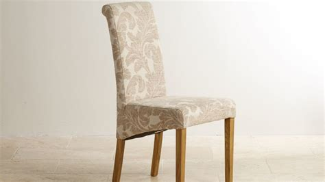 Fabric For Dining Room Chairs fabric dining chairs oak furniture land