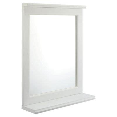 wooden bathroom mirror with shelf buy southwold bathroom mirror with shelf white wood