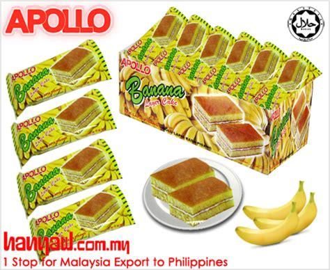 Apollo Layer Cake Isi 24 Pcs apollo layer cake banana 3050 hanyaw malaysia 1 stop