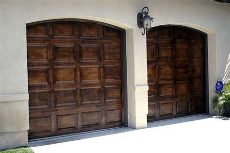 faux painted garage doors faux wood painted garage doors upgrade your homes garage