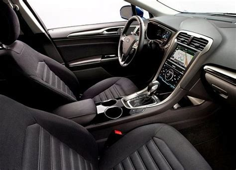 2014 ford fusion interior images
