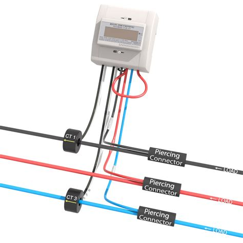 3 phase 3 wire metering package