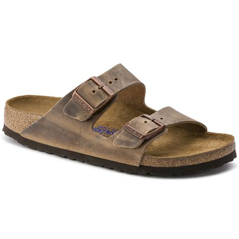 Sandal Gdns Hold Brown arizona soft footbed tobacco leather birkenstock