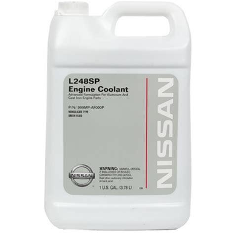 Nissan Coolant Oem Nissan Coolant 1 Gallon 999mp Af000p