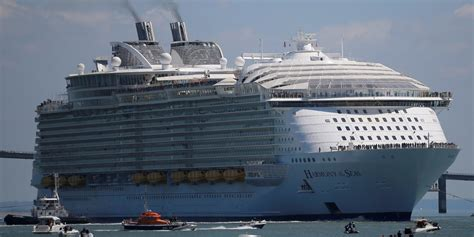 largest cruise ship being built harmony of the seas debut business insider