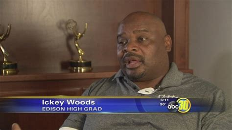 Geico Cavemen Focus Of Abc Tv Pilot by Geico Commercials Thrust Elbert Quot Ickey Quot Woods Back Into