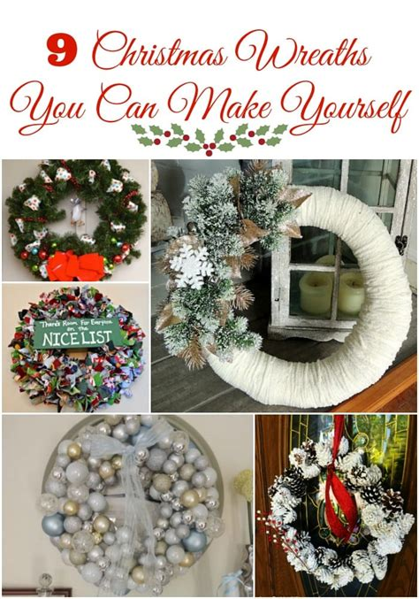 beautiful christmas wreaths     easy