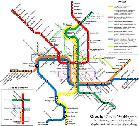 metro map metro map with circulator routes borderstan