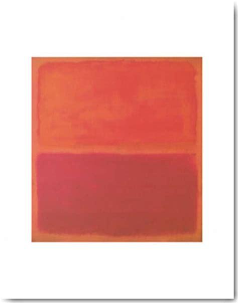 Rothko Kunstdruck by Rothko No 3 1967 I Kunstdruck 28x35