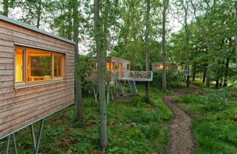 Small Homes Germany Amazing Tiny Treehouse Cabins In Germany