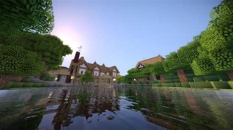 minecraft lake house lakehouse minecraft seeds for pc xbox pe ps3 ps4