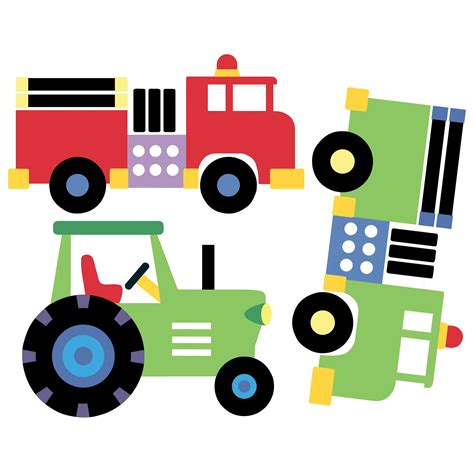 Wandsticker Traktor by Wallies Wandsticker Wandaufkleber Fahrzeuge Autos Loks Lkw