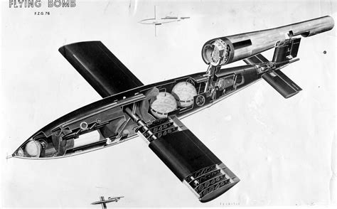 doodlebug wwii v 1 flying bomb fieseler fi 103 buzz bomb domain