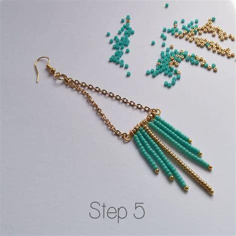 beaded fringe earrings tutorial 791 best beading images on jewelry jewelry