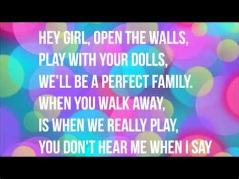 doll house song lyrics dollhouse melanie martinez lyrics music playlist