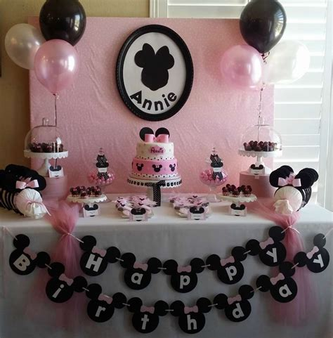 birthday themes minnie mouse minnie mouse birthday party ideas photo 11 of 13 catch