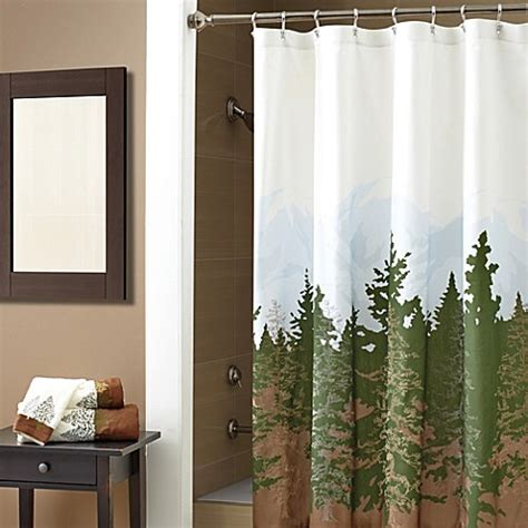 wilderness curtains croscill 174 wilderness 72 inch x 72 inch shower curtain