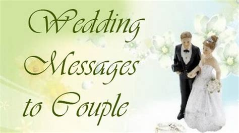 Wedding Messages to Couple, Best Wishes For Newly Married