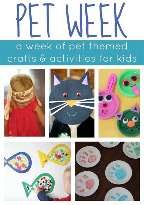 crafts actvities and worksheets for preschool toddler and pet week week of playful learning activities learning
