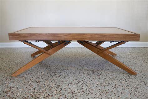 Castro Convertible Coffee Table Vintage Castro Convertible Adjustable Coffee Side Dining Table