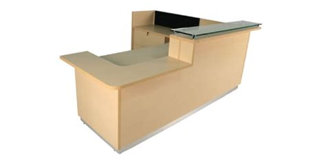 Ada Reception Desk Faustinos Ada Approved Custom Built Reception Desks Lobby Desks Are Made In The Usa