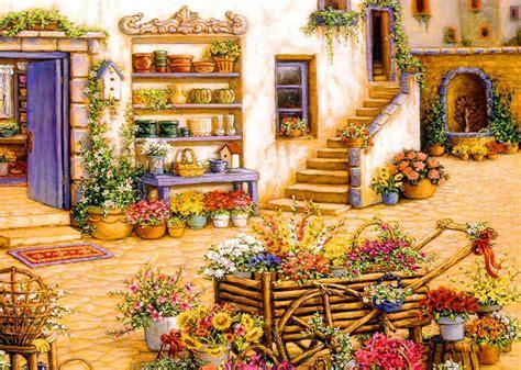 11 artistic better homes and gardens kitchens lentine 温馨家庭花园油画唯美意境图片320480 唯美意境图片 唯美图片大全 小清新图片 小清新壁纸